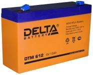 Delta DTM 612 - Аккумуляторная батарея, AGM, 12Ач, 6В