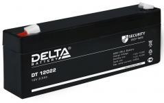 Delta DT 12022 - Аккумуляторная батарея, AGM, 2.2Ач, 12В