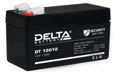 Delta DT 12012 - Аккумуляторная батарея, AGM, 1.2Ач, 12В