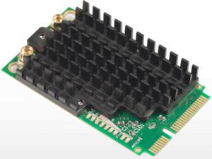 MikroTik R11e-5HnD - Радиокарта, 5GHz miniPCI-express, 802.11a/n dual chain, 2x MMCX