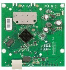 MikroTik RouterBOARD911 Lite5 dual (RB911-5HnD) - материнская плата 600Mhz CPU, 64MB RAM, 1xEthernet, onboard 5Ghz Dual chain wireless, RouterOS L3