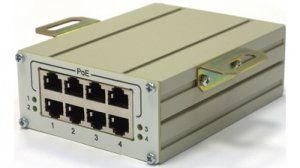 TFortis FSE-4B - 4-портовый инжектор РоЕ 802.3af, 50Вт