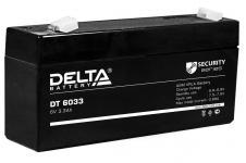 Delta DT 6033 (125мм) - Аккумуляторная батарея, AGM, 3.3Ач, 6В
