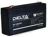 Delta DT 6015 - Аккумуляторная батарея, AGM, 1.5Ач, 6В