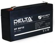 Delta DT 6012 - Аккумуляторная батарея, AGM, 1.2Ач, 6В