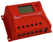 Преимущества: Автоматическое распознавание напряжения в системе 12В/24В. Применяется улучшенный трёхстадийный алгоритм заряда аккумуляторов. Периодически или в случае глубокого разряда происходит включение уравнительного заряда батареи, что эффективно замедляет процесс сульфатации и предотвращает возникновение неравномерности состояния элементов батареи, тем самым продлевая срок её службы