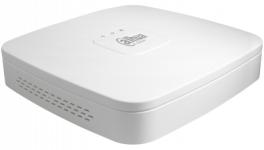 Dahua DHI-NVR2104-P-4KS2 - IP-видеорегистратор 4-х канальный с PoE, до 8Мп, до 80Мбит/с, 1хHDD до 6ТБ, 4 PoE порта, HDMI, VGA, аудио вх./вых, 2 порта USB2.0