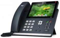 Yealink SIP-T48S - IP-телефон, цветной сенсорный экран, 16 аккаунтов, BLF,  PoE, GigE, без БП