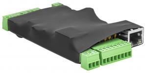 Для питания устройства, можно использовать инжектор 48V. Функционал устройства полностью аналогичен -SNR-ERD-4s В качестве корпуса - термоусадочная трубка