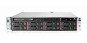 В комплект входит: Шасси: HP DL380p Gen8 - 1 шт Процессор: Intel Xeon 8C E5-2670 2.60GHz/20MB - 2 шт Память: 128GB (16x8GB) DDR3, свободно 8слотов. Контроллер: HP Smart Array P420i/1GB FBWC - 1 шт 8 отсеков под диски SAS/SATA 3