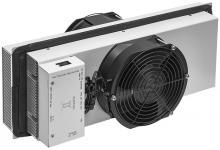 Термоэлектрический кондиционер 300 Вт для серверных шкафов SNR-ACC-300-TEC состоит из термоэлектрических преобразователей Пельтье, охлаждающих радиаторов, вентилятора и контроллера