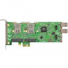 Описание Mikrotik RB14eURB14EU легко инсталлируется в любой персональный компьютер, имеющий разъём PCIe. Устройство представляет собой плату расширения для слота PCIe и предназначено для использования Wi-Fi или 3G/4G радиокарт (до 4 шт