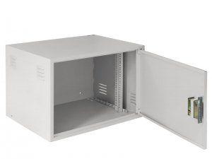 NETLAN EC-WS-095650-GY - Настенный антивандальный коммутационный шкаф, 9U, Ш600хВ470хГ450мм, OEM, серый