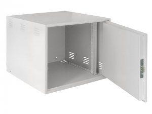 NETLAN EC-WS-126060-GY - Настенный антивандальный коммутуционный шкаф сейфового типа, 12U, Ш600хВ600хГ600мм, OEM, серый