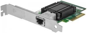 Надёжная, производительная и доступная сетевая картаSNR-E1P10GT-T Поддержка 10G/5G/2.5G/1G/100Base-T Tehuti TN4010B0 + Marvell 88X3310 Буфер 1М MSI and IP/TCP/UDP checksum offload Акселератор OptiStrata™ (L2 offload CRC proc, MAC/VLAN filter) Характаристики: Чип Tehuti TN4010B0 + Marvell 88X3310 Разъём RJ45 Скорости 100/1000/2500/5000/10GBase-T Типы кабелей Cat-6A (10G до 100м) Cat-6/Cat-5e (5G до 100м) Крепление Низкий профиль и полный профиль максимальная потребляемая мощность 6
