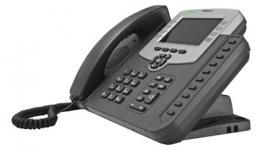 SNR-VP-56-P - IP телефон: 6xSIP аккаунтов, 2xRJ45 (10/100Мбит/с), режимы Router/Bridge, поддержка PoE, 802.1Q VLAN, 1хRJ9 (гарнитура), 3х-сторонняя конференция, русский язык