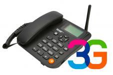 Стационарный телефон Termit FixPhone 3G — эффективный способ мгновенной телефонизации там, где проводные линии связи использовать невозможно или невыгодно