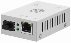 МедиаконвертерSNR-CVT-1000SFP-mini преобразует сигнал из стандарта 10/100/1000-Base-T всигнал 100/1000Base-FX, оснащен портом SFP для оптических трансиверов, выбираемых пользователем, и расширяет сетевое соединение для различных расстояний в зависимости от возможностей SFP трансивера