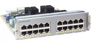 Модуль формата half slot, 20 портов 10/100/1000BaseT для коммутаторов Cisco WS-C4900M Описание на сайте производителя Производитель:Cisco