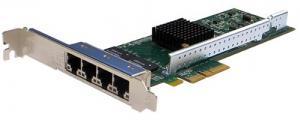 Сетевая карта 4 порта 10/100/1000Base-T (RJ45, Intel i350AM4), Silicom PE2G4i35L, поддержка DNA и Libzero, производство Израиль Сетевой адаптер Silicom PE2G4i35L предназначен для использования в серверах и высокопроизводительных сетевых плафтормах