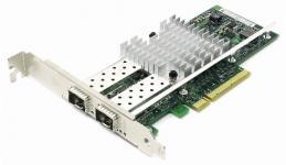 Сетевая карта SNR-E2P10GS 2 порта 1000Base-X/10GBase-X (SFP+) аналог карты Intel® X520 Универсальный серверный сетевой адаптер предназначен для организации высокоскоростного подключения серверов по сети Ethernet на скорость 10Гбит/с