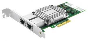 Сетевая карта 2 порта 100/1000/10GBase-T SNR-E2P10GT на базе чипа Intel X550-AT2 Универсальный высокопроизводительный сетевой адаптер SNR-E2P10GT на базе чипа Intel X550-AT2