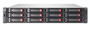 Дисковый массив поддерживает только оригинальные диски HP. В комплект входит: Шасси дискового массива HP StorageWorks P2000 3.5с двумя блоками питания- 1шт Контроллер HP P2000 G3 8 Гбит/с FC - 2шт В комплект не входят HDD и салазки Рельсы для установки в стойку - нет Массивы HP StorageWorks P2000 G3 MSA идеально подходят для использования в отделах крупных предприятий и компаниях малого и среднего бизнеса