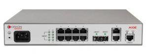 Orion NetworksAlphaA10E–интеллектуальный коммутатор, выполняющий коммутацию данных на втором уровне сетевой модели OSI