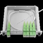 Планарные оптические делителиявляются необходимым пассивным элементом в волоконно-оптических каналах связи. Используются в пассивных оптических сетях, в точках доступа систем FTTx и т