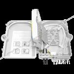 Сплайс-кассета FT-RQ-01 является дополнительной опцией к оптической распределительной коробке SNR-FTTH-FDB-24A и предназначена для фиксации и защиты термоусадочных гильз