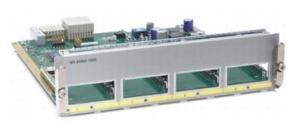 Состояние: бывший в употреблении, без оригинальной упаковки. Модуль WS-X4904-10GE формата half slot, 4 порта 10G(X2), для коммутаторов Cisco WS-C4900M