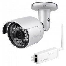 Edimax IC-9110W - IP-камера, 1Мп, цилиндрическая, 12V, ИК 15м, IP66, 1280x720, Wi-Fi