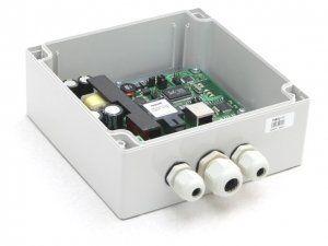 Коммутатор TFortis PSW-11 (оптика) - PoE-коммутатор уличный, 1*802.3af/Passive PoE 10/100Base-Tx, 1*SFP 100/1000Base-X