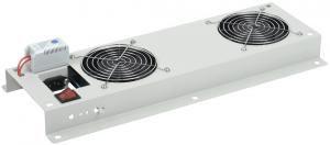 Панели вентиляторные ITK серии ПВ предназначены для установки и использования в настенных шкафах серии LINEA W и сетевых шкафах LINEA N для организации принудительного охлаждения и вентиляции установленного в них активного (серверы, дисковые массивы, коммутаторы, ИБП и др
