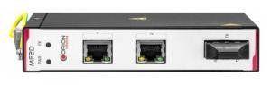 Медиаконвертер Orion MF2D преобразует сигнал из стандарта 10/100Base-T в сигнал 100Base-FX, оснащен двух волоконным передатчиком 1310нм, с дальностью до 20Км