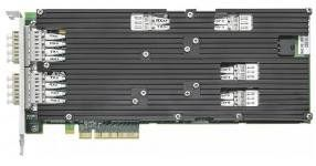 Silicom PE310G4BPi9-SRD-SD - Сетевая карта 4 порта 1000Base-SX/10GBase-SR Bypass (LC, Intel 82599ES), полнопрофильная, поддержка DNA, Libzero, Zero Copy, производство Израиль