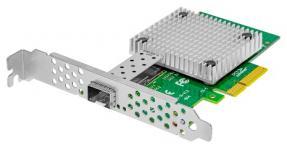Надёжная, производительная и доступная сетевая карта SNR-E1P10GS-X Поддержка 10GBase-X Tehuti TN4010B0 + Marvell 88X3310 Буфер 1М MSI and IP/TCP/UDP checksum