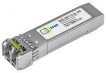 SNR-SFP-C55-120 - Двухволоконный модуль, SFP CWDM 1000Base-ZX, разъем LC duplex, рабочая длина волны 1550нм, дальность до 120км (32dB).