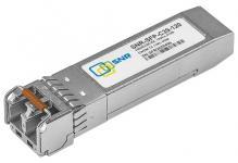Двухволоконный оптический CWDM модуль с форм-фактором SFP для 1G Ethernet, соответствует стандарту 1000Base-ZX. Предназначен для работы в одномодовом оптическом волокне (Single mode fiber, SMF), максимальная дальность 120км, оптический бюджет 41dB, duplex LC коннектор, соответствие рекомендациямSFF-8431 Multisource Agreement (MSA)
