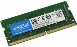 Модуль памяти класса DDR4, имеет объем 8 ГБ и260-контактный модуль SODIMM 1Rx8. Предельная частота работы устройства достигает 2400 МГц, а пропускная способность – 19200 Мб/с