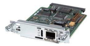 Состав: МодульVWIC-1MFT-G703 Описание: Одно- и двухпортовые интерфейсные карты E1 Multi-flex Vioce/WAN (Multiflex VWIC) поддерживают функцию голосового трафика и передачу данных, а также интегрированный (голос/данные) трафик