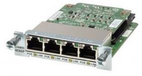 Интерфейсные модули Cisco EHWIC с 4 и 8 портами Gigabit Ethernet предназначены для использования с маршрутизаторами Cisco 3900, 2900 и 1900 серий. Интеграция этих коммутаторов с программным обеспечением Cisco IOS® Software предоставляет сетевым администраторам возможность управления одним устройством при помощи утилит Cisco или командной строки маршрутизатора (CLI)