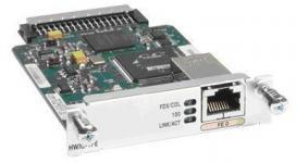 Высокопроизводительные модули (HWICs) с 1 или 2 портами Fast Ethernet 3 уровня поддерживаются маршрутизаторами Cisco 1841, 2800, и 3800 серий и предлагают покупателям малого и большого бизнеса, а также корпоративным покупателям возможность добавить маршрутизируемые порты 3 уровня, имеющие множество продвинутых особенностей, включая качество обслуживаиня (QoS) и возможность ограничения пропускной способности