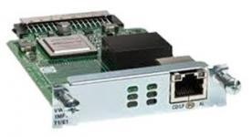 Модуль, 1 порт T1/E1 Multiflex Trunk G.703, для маршрутизаторов 1900, 2900 и 3900 серий. Таблица модулей Cisco (Router module) Описание на сайте производителя