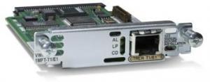 Модуль, 1 портом T1/E1 Multiflex Trunk, для маршрутизаторов 1900, 2900 и 3900 серий. Таблица модулей Cisco (Router module) Описание на сайте производителя