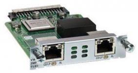 Модуль, 2 порта T1/E1 Multiflex Trunk, для маршрутизаторов 1900, 2900 и 3900 серий. Таблица модулей Cisco (Router module) Описание на сайте производителя