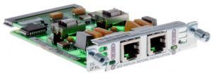 Модуль формата VIC (Voice Interface Card), с поддержкой (caller ID), для маршрутизаторов Cisco 1750, 1751, 1760 или модулей NM-2V. Используется для связи маршрутизатора с внешней телефонной системой