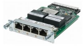 Модуль, 4 WAN порта T1/E1 для маршрутизаторов 2800, 2900, 3800, 3900 серий содержит: 4 порта с разъёмами RJ-48 ПО Cisco IOS настраиваемое для функционирования T1 или E1 Встроенный CSU/DSU на каждом порту Балансное и небалансное терминирование E1 в самом модуле Режимы E1 unframed и framed (G