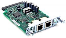 Интерфейсная карта с 2мя голосовыми/факсовыми FXS портами. Функциональность: Поддержка маршрутизаторов Cisco серий 17хх, 2600XM и 2691, 28хх, 36хх, 37хх, 38хх