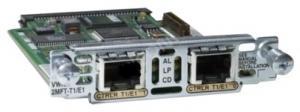 Двухпортовые интерфейсные карты E1 Multi-flex Vioce/WAN (Multiflex VWIC2) поддерживают функцию голосового трафика и передачу данных, а также интегрированный (голос/данные) трафик